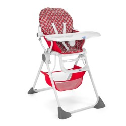 Chicco - Chicco Pocket Lunch Mama Sandalyesi Red Wave