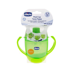 Chicco - Chicco 12m Meal Cup Yeşil 180ml