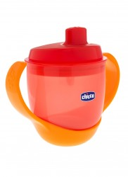 Chicco - Chicco Meal Cup 12m Suluk 180 ml Turuncu
